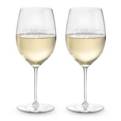 Riedel Veritas Chardonnay Set of 2 Wine Glasses