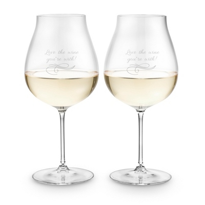 Riedel Veritas Pinot Set of 2 Wine Glasses