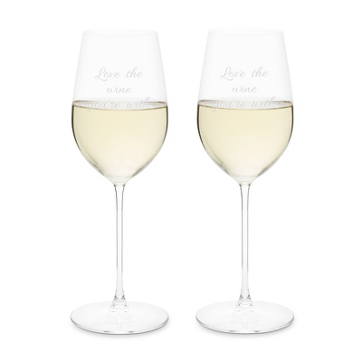 Riedel Veritas Riesling Zinfandel Set of 2 Wine Glasses
