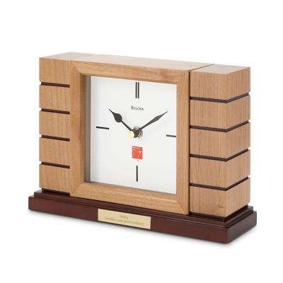 Bulova Frank Lloyd Wright: Usonian II Mantel Clock