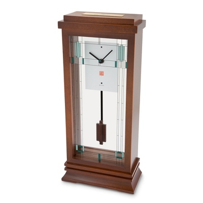 Bulova Frank Lloyd Wright: Willits Mantel Clock - UPC 42429910546