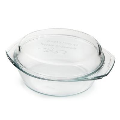 Round Glass Casserole Dish