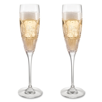 Waterford Crystal Wedding Vows Toasting Flutes - UPC 825008095403