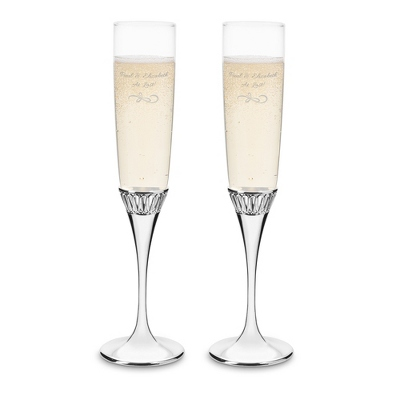 Waterford Monique Lhuillier Opulence Toasting Flutes