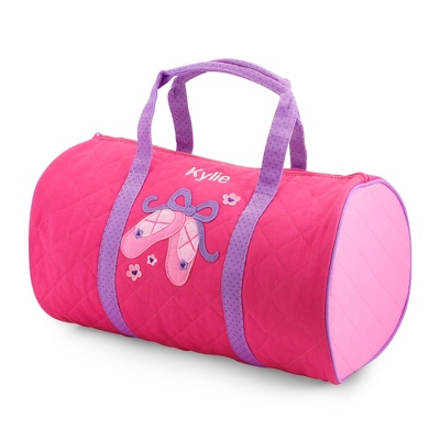 Ballerina Quilted Duffle Bag - School Supplies & Back Packs