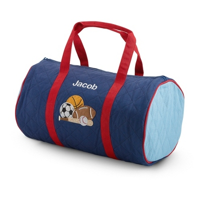 Sports Quilted Duffle Bag - School Supplies & Back Packs
