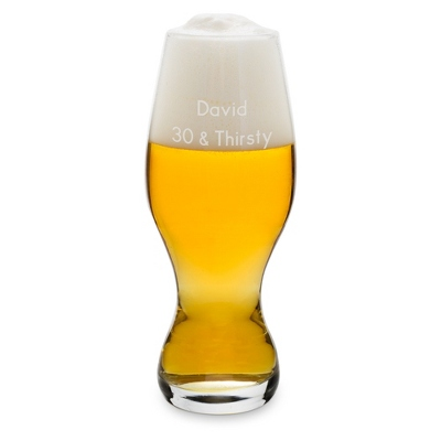 Personalized IPA Beer Glass