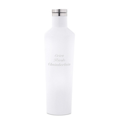White Corkcicle Vinnebago Insulated Wine Bottle