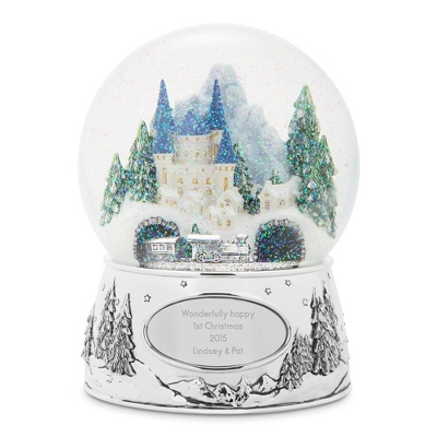 Winter Wonderland Express Snow Globe
