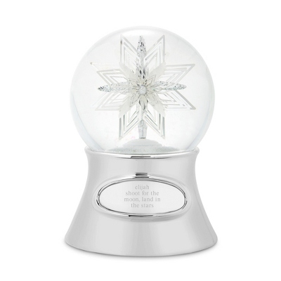 Make-A-Wish Snowflake Snow Globe