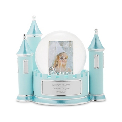 Princess Castle Photo Snow Globe