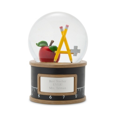 Teacher Snow Globe