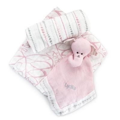 aden + anais Pink Bamboo Lullaby Gift Set