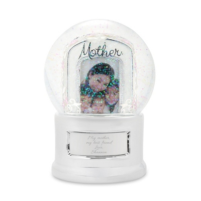 "Mother"" Photo Snow Globe"