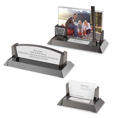 Mixed Metal Desk Collection - Business Gifts For Him