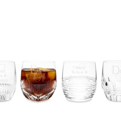 Waterford Mixology Clear Double Old Fashioned Set of 4 - $195.00