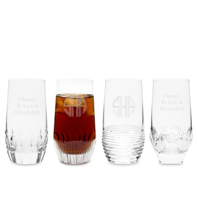 Waterford Mixology Clear High Ball Set of 4 - $295.00