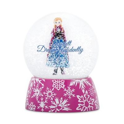 Disney Frozen Anna Snow Globe
