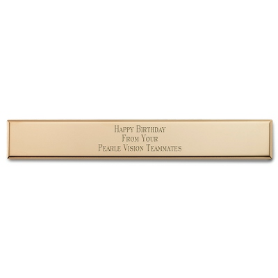 Personalized Engraving Plates - 24 products