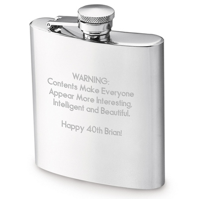 Stainless Steel 7oz Flask