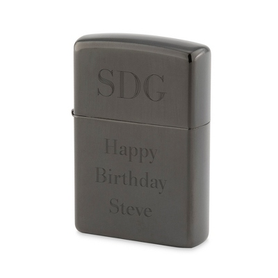 Black Ice Zippo Lighter - Men's Accessories