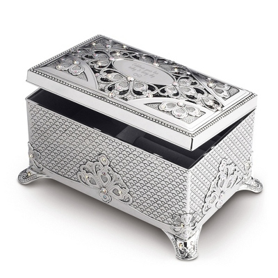 Engraved Jewelry Box Velvet Lining