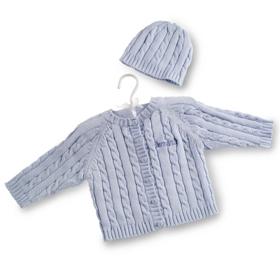 Blue Knit Sweater - $30.00