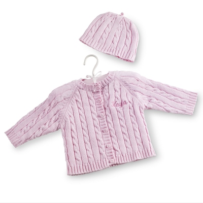 Pink Knit Sweater - $30.00
