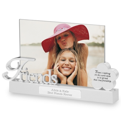 Friends Float Frame - Flower Girl