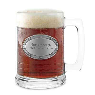 Engraved Lager Glass