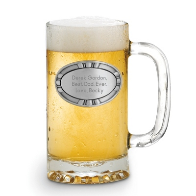 Engraved Glass Beer Mug - 24 products
