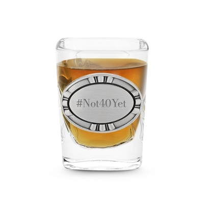 Personalized Shot Glass Gift