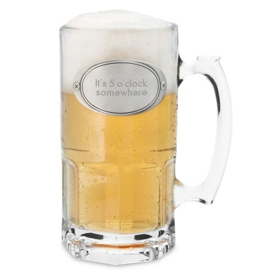 Engraved 34oz Moby Beer Mug - Top 10 Groomsmen Gifts