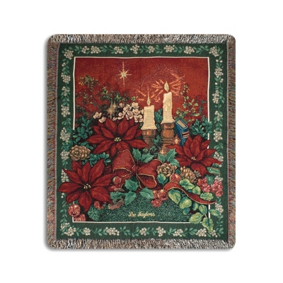 Evening Solitude Throw - Holiday Decor