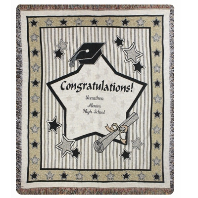 Graduation Throw