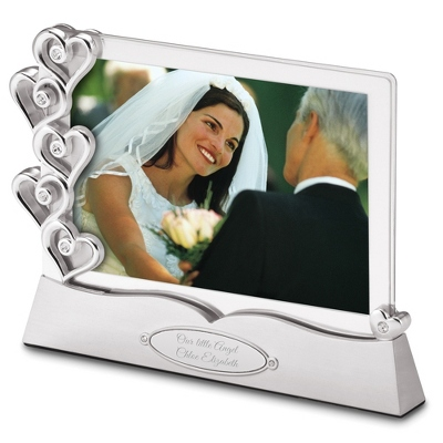 Picture Frames with Engraving Wedding Gift