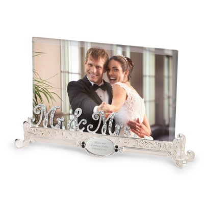 Engraved Picture Frame Wedding Gift