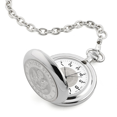 Army Coin Pocket Watch