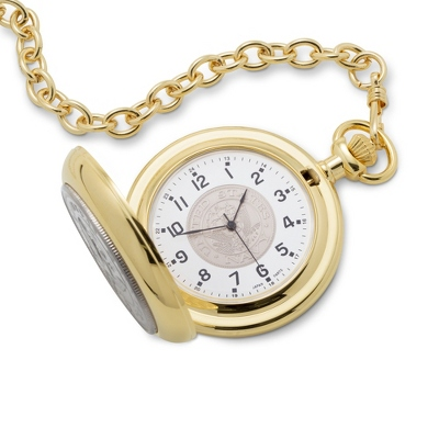 Navy Coin Pocket Watch