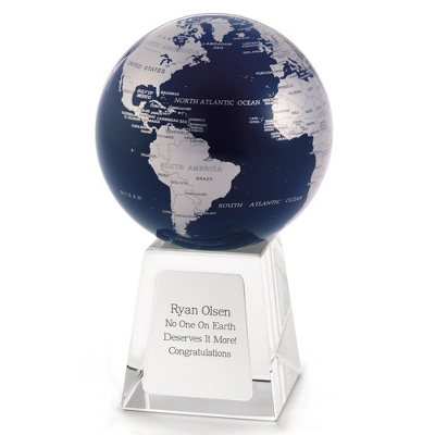 Personalized MOVA Spinning Globe by Things Remembered