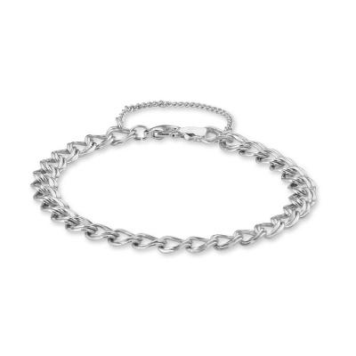 Sterling Silver Double Bracelet