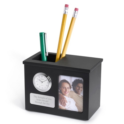 Personalized Black Matte Pen Holder by Things Remembered