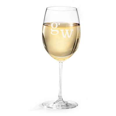 Personalized White Wine Glass - Barware & Accessories