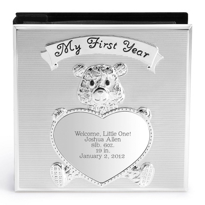 Teddy Bear Album - Children's Frames & Albums