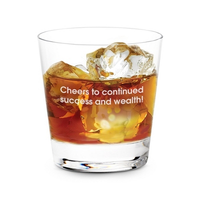 Personalized Groomsmen Bar Glass