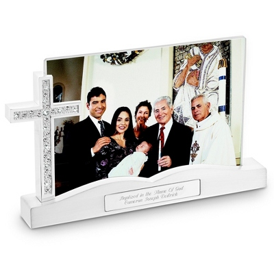 Cross Float Frame - Religious & Inspirational Gifts