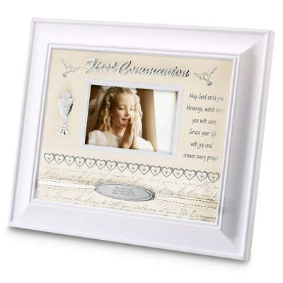 Engraved First Communion Frame