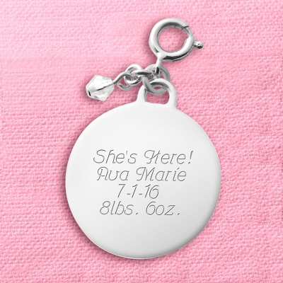Engraved Round Charm - 10 products