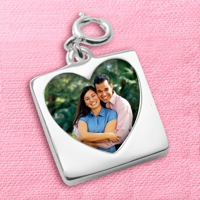 Picture Engraved on a Charm