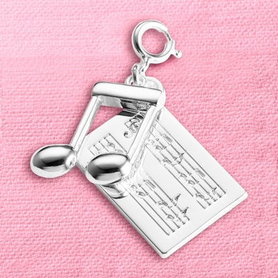 Music Note Charm